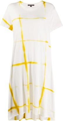 Suzusan tie-dye T-shirt dress