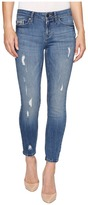 Calvin Klein Jeans Ankle Skinny Jeans in Ocean Destructed Wash Women's Jeans