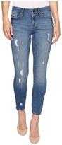 Calvin Klein Jeans Ankle Skinny Jeans in Ocean Destructed Wash