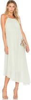Tibi Shirred Dress