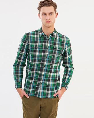 Kent And Curwen Classic Plaid Shirt