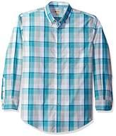 Haggar Men's Long Sleeve Weekender Woven Shirt