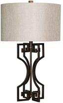 Surya Glamorous Greek Key Lamp
