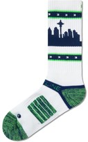 Strideline White Seatown Strapped Fit 2.0 Socks