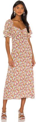 Faithfull The Brand X REVOLVE Lennox Midi Dress