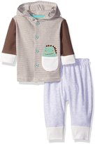 Rene Rofe Baby Boys' 2 Piece Hooded Cardigan and Pant Set
