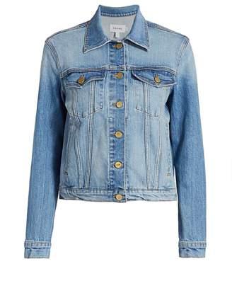 Frame Le Vintage Style Denim Jacket