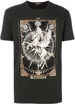 Roberto Cavalli horse print T-shirt - men - Cotton - XS