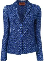 Missoni two button blazer - women - Nylon/Viscose/Wool - 44