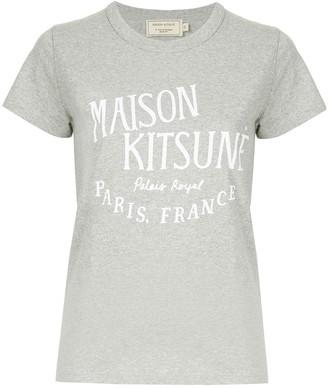 MAISON KITSUNÉ logo print T-shirt