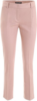 Dolce & Gabbana Cropped Mid Rise Trousers