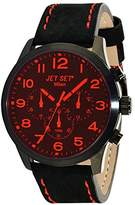 Jet Set – j6480b-217 – Milan – Quartz – Chronograph – Black Dial Steel Bracelet Ladies Watch Silver