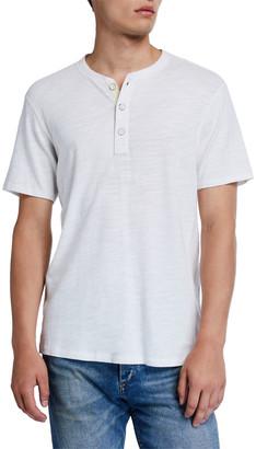 Rag & Bone Men's Standard Issue Short-Sleeve Henley T-Shirt