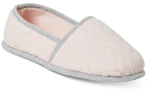 Dearfoams Women's Mary Cable Quilt Closed Back Slippers, Online Only