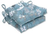 Ophelia Dubose Seafoam Reversible Indoor Dining Chair Cushion & Co.