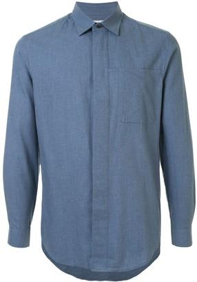 Cerruti Long Sleeve Loose Fit Shirt