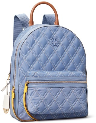 Tory Burch PERRY NYLON MIXED STITCH ZIP BACKPACK