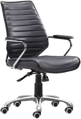 ZUO Modern Enterprise Low-Back Office Chair