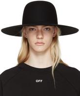 Off-White Black Wide-Brim Hat