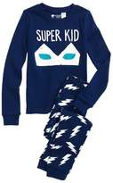 Tucker + Tate Super Kid Glow in the Dark Fitted Two-Piece Pajamas