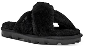 UGG Women's Fuzzette Shearling Slide Slippers