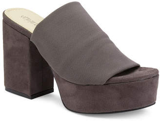 OLIVIA MILLER Myers Chunky Heel Peep Toe Platform Sandals Women Shoes