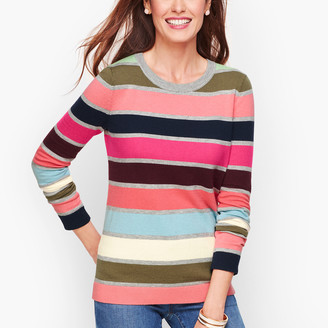 Talbots Supersoft Multicolor Stripe Sweater