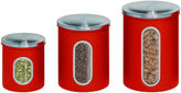 Honey-Can-Do 3-pc. Metal Storage Canister Set