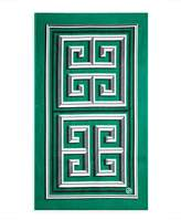 Jonathan Adler Greek Key Beach Towel, Green
