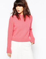 See by Chloe Pink Knitted Sweater