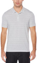 Perry Ellis Short Sleeve Geo Print Polo