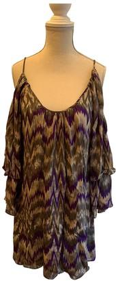 Parker Purple Silk Dress for Women