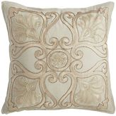 Pier 1 Imports Romantic Glam Beaded Medallion Pillow