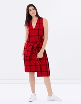 Cheap Monday Rizzle Check Dress