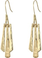 Robert Lee Morris Gold Stick Linear Earrings