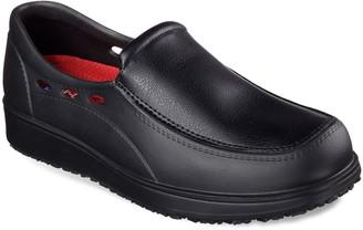 Skechers Relaxed Fit Lorman SR Men's Shoes