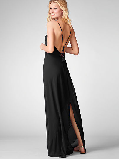 Victoria's Secret Tie-back Maxi Dress