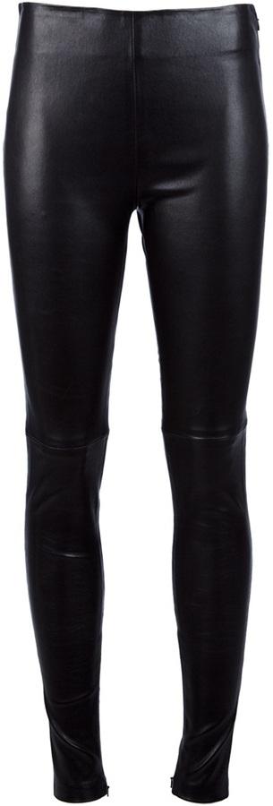 Balenciaga leather legging