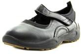 Propet Wash & Wear Slip-on Women Round Toe Leather Black Mary Janes.