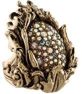 Roberto Cavalli Crystal Cocktail Ring
