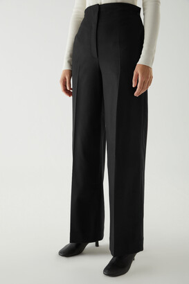 Cos Wool-Cashmere Tailored Pants
