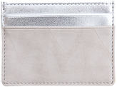 Caroline Gardner Hearts Metallic Card Holder, Grey/Silver