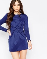 Wal G Dress With Twist Front