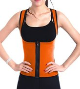SLTY Women's Hot Thermo Sweat Neoprene Shapewear Sauna Tank Top Vest For Weight Loss