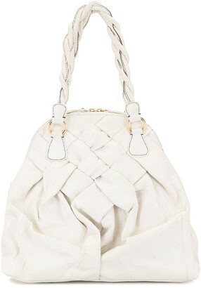 Valentino Pre Owned Snakeskin-Effect Tote Bag