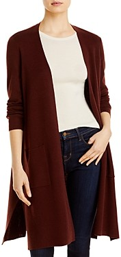 Eileen Fisher Merino Wool Long Cardigan