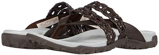 Merrell Terran Braid Thong (Espesso) Women's Shoes