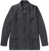 Private White V.C. Linen Field Jacket