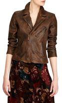 Polo Ralph Lauren Notch Leather Jacket