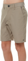 Billabong Kids Boys New Order X Twill Zip Walkshort Green